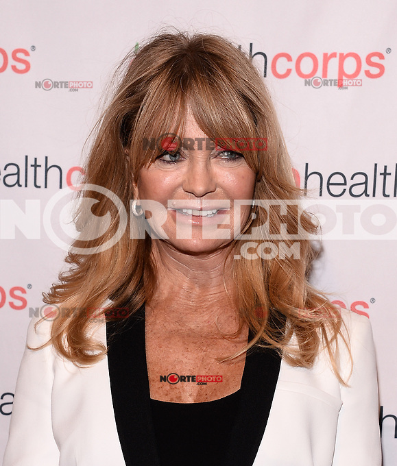 HealthCorps'® 8th Annual Gala to Honor Goldie Hawn at Waldorf Astoria Hotel, April 9 ,2014 in New York City HP/Starlitepics
