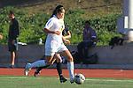 Manhattan Beach, CA 01/25/10 - Megan Hong (Mira Costa #13) in action during the Bay League game between Mira Costa and Palos Verdes, Palos Verdes defeated Mira Costa 2-0.
