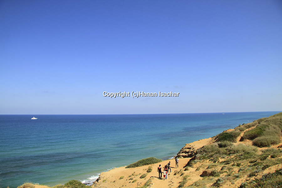 Israel, Sharon Beach national park