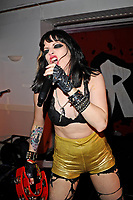 BLACKPOOL, ENGLAND - AUGUST 5: Kelly Tiger Sex of 'Tiger Sex' performing at Rebellion Festival, Winter Gardens on August 5, 2017 in Blackpool, England.<br /> CAP/MAR<br /> &copy;MAR/Capital Pictures