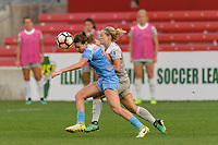 Bridgeview, IL - Sunday September 03, 2017: Arin Gilliland during a regular season National Women's Soccer League (NWSL) match between the Chicago Red Stars and the North Carolina Courage at Toyota Park. The Red Stars won 2-1.