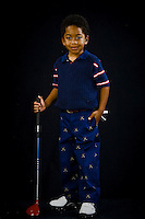 Golf photos of Mr. Viverette in Visual Statements Photography studio