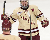 Steven Whitney (BC - 21) - The Boston College Eagles defeated the visiting University of Vermont Catamounts to sweep their quarterfinal matchup on Saturday, March 16, 2013, at Kelley Rink in Conte Forum in Chestnut Hill, Massachusetts.