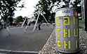 "Tokyo, Japan - ""Can Chu-hi"" ready to be drinked at a local park. Chu-hi, which is a type of alcoholic drinks, is favorable for Japanese people. Chu-hi, which is a type of a alcoholic drink, is a favorite among many Japanese people. The name, ""Chu-hi"" is a derived form of a combination of ""shochu and highball."" Chu-hi companies often launch limited edition themed drinks to celebrate the different seasons in Japan. (Photo by Yumeto Yamazaki/AFLO)"