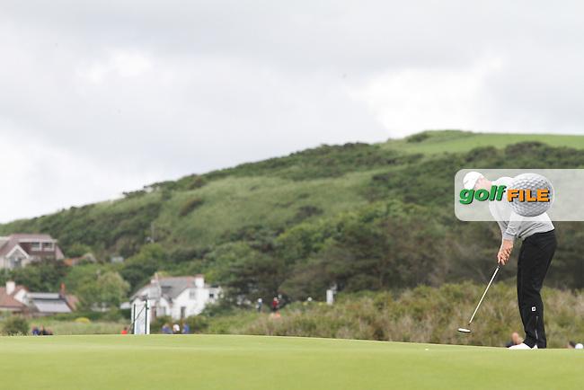 Nicolas Colsaerts (BEL) on the 12th on Day 2 of the 2012 Irish Open at Royal Portrush Golf Club, Portrush, Co.Antrim, 29/6/12...(Photo Jenny Matthews/www.golffile.ie)