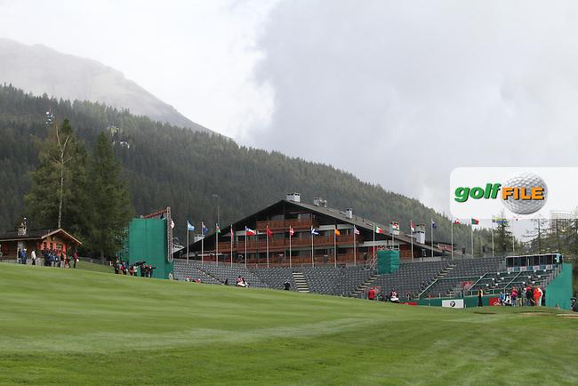 on Day 2 of the Omega European Masters 2012, Golf Club Crans-Sur-Sierre, Crans Montana, Switzerland, 31/8/12...(Photo Jenny Matthews/www.golffile.ie)