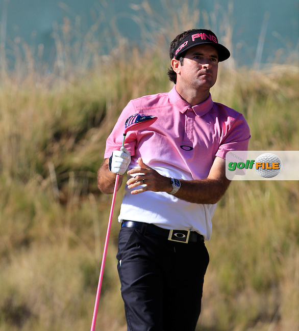 Bubba Watson (USA) tees off the 6th tee during Friday's Round 2 of the 2015 U.S. Open 115th National Championship held at Chambers Bay, Seattle, Washington, USA. 6/20/2015.<br /> Picture: Golffile | Eoin Clarke<br /> <br /> <br /> <br /> <br /> All photo usage must carry mandatory copyright credit (&copy; Golffile | Eoin Clarke)
