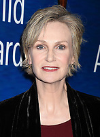 BEVERLY HILLS, CA - FEBRUARY 11: Actress Jane Lynch attends the 2018 Writers Guild Awards L.A. Ceremony at The Beverly Hilton Hotel on February 11, 2018 in Beverly Hills, California.