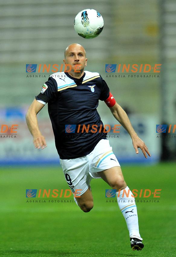 "Tommaso ROCCHI (Lazio).Parma 31/03/2012 Stadio ""Ennio Tardini"".Serie A 2011/2012.Football Calcio Parma Vs Lazio.Foto Insidefoto Alessandro Sabattini."