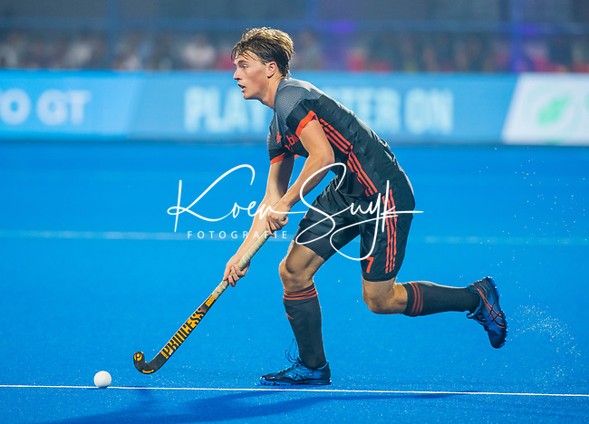 BHUBANESWAR (INDIA) - Jorrit Croon (Ned)   tijdens Nederland-Canada bij het WK Hockey heren. COPYRIGHT KOEN SUYK