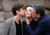20150226 ROMA-SPETTACOLI: PHOTOCALL DEL FILM 'NESSUNO SI SALVA DA SOLO' DI SERGIO CASTELLITTO