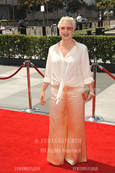 Sharon Gless at the Creative Arts Emmy Awards at the Nokia Live Theatre, Los Angeles..September 13, 2008  Los Angeles, CA.Picture: Paul Smith / Featureflash