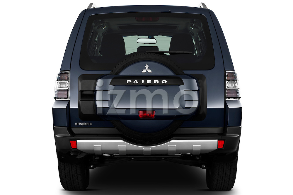Straight rear view of a 2009 Mitsubishi Pajero InStyle 5 Door SUV