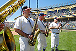 5 March 2007: The Atlanta Braves Philharmonic Brass Quartet plays popular tunes prior to a Spring Training game between the Atlanta Braves and the Washington Nationals at Disney's Wide World of Sports in Orlando, Florida. The Braves are celebrating 10 years at the Disney facility.<br /> <br /> Mandatory Photo Credit: Ed Wolfstein Photo