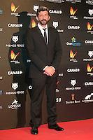 Alberto Rodriguez attends the Feroz Cinema Awards 2015 at Las Ventas, Madrid,  Spain. January 25, 2015.(ALTERPHOTOS/)Carlos Dafonte) /NortePhoto<br /> <br /> nortePhoto.com