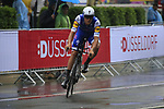 Matteo Trentin (ITA) Quick-Step Floors in action during Stage 1, a 14km individual time trial around Dusseldorf, of the 104th edition of the Tour de France 2017, Dusseldorf, Germany. 1st July 2017.<br /> Picture: Eoin Clarke | Cyclefile<br /> <br /> <br /> All photos usage must carry mandatory copyright credit (&copy; Cyclefile | Eoin Clarke)