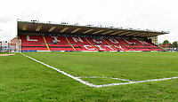 A general view of Sincil Bank, home of Lincoln City FC<br /> <br /> Photographer Chris Vaughan/CameraSport<br /> <br /> The EFL Sky Bet League Two Play Off First Leg - Lincoln City v Exeter City - Saturday 12th May 2018 - Sincil Bank - Lincoln<br /> <br /> World Copyright &copy; 2018 CameraSport. All rights reserved. 43 Linden Ave. Countesthorpe. Leicester. England. LE8 5PG - Tel: +44 (0) 116 277 4147 - admin@camerasport.com - www.camerasport.com
