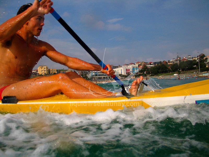 Paddle Board training at North Bondi.