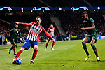 Atletico de Madrid's Nikola Kalinic during UEFA Champions League match between Atletico de Madrid and AS Monaco at Wanda Metropolitano Stadium in Madrid, Spain. November 28, 2018. (ALTERPHOTOS/A. Perez Meca)