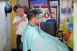 Giving Haircut
