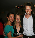 All My Children's Melissa Claire Egan, Marcia Tovsky - Adam Mayfield at Marcia Tovsky's Holiday/Bon Voyage Party for AMC on December 1, 2009 at Nikki Midtown, New York City, New York. (Photo by Sue Coflin/Max Photos)