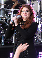 NEW YORK, NY-June 21: Megan Trainor perform on NBC's Today Show Citi Concert Series at Rockefeller Center in New York. NY June 21, 2016. Credit:RW/MediaPunch