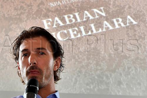 10.11.2016. Antwerp, Belgium. Fabian Cancellara at his biography book release.