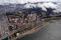 aerial photograph Presidio San Francisco California