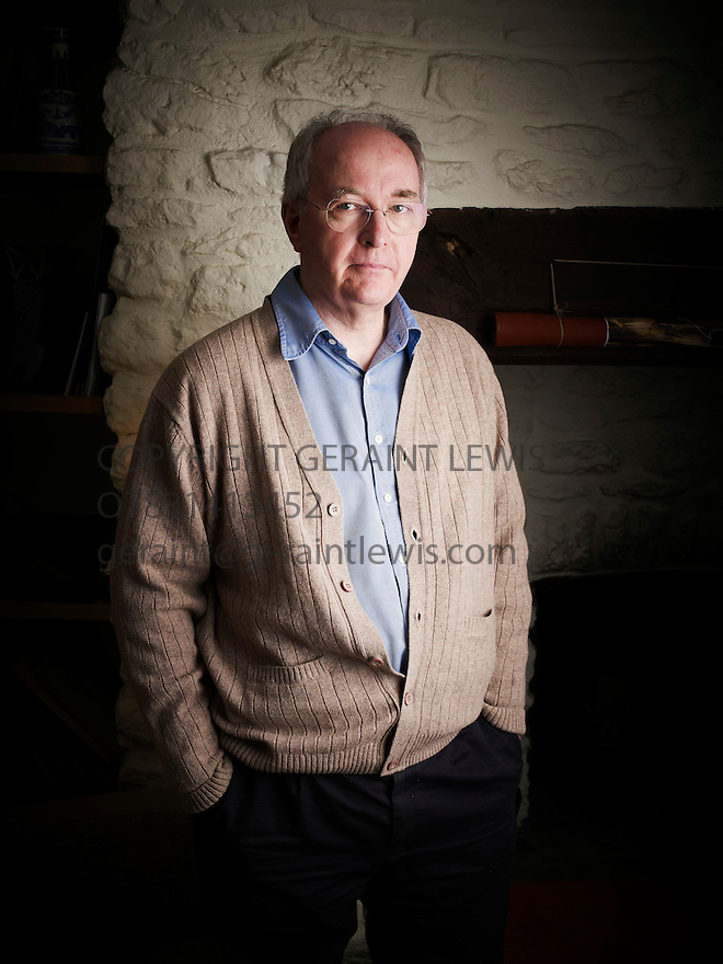 Philip Pullman,writer at home near Oxford.CREDIT Geraint Lewis