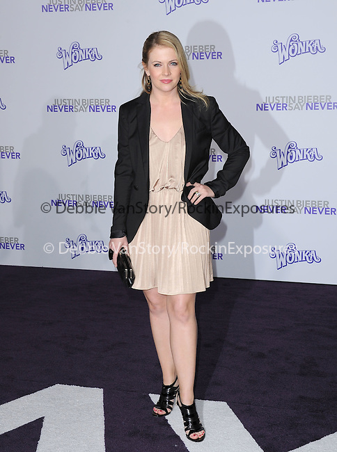 """Melissa Joan Hart  attends the Paramount Pictures' L.A. Premiere of """"JUSTIN BIEBER: NEVER SAY NEVER."""" held at The Nokia Theater Live in Los Angeles, California on February 08,2011                                                                               © 2010 DVS / Hollywood Press Agency"""