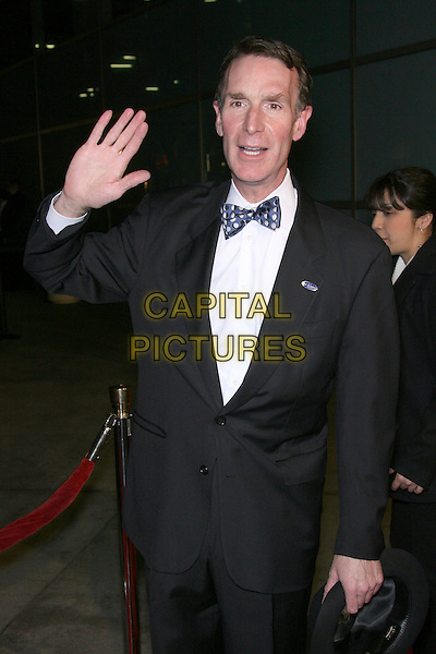 "BILL NYE.""The Astronaut Farmer"" World Premiere - Arrivals held at the Cinerama Dome, Hollywood, California , USA, .20 February 2007..half length hand waving.CAP/ADM/ZL.©Zach Lipp/AdMedia/Capital Pictures."