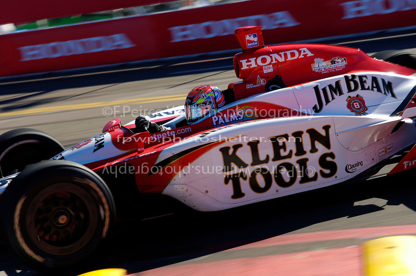 Grand Prix of St. Petersburg, 3 April, 2005.Dan Wheldon..Copyright©F.Peirce Williams 2005.  ref.Digital Image Only