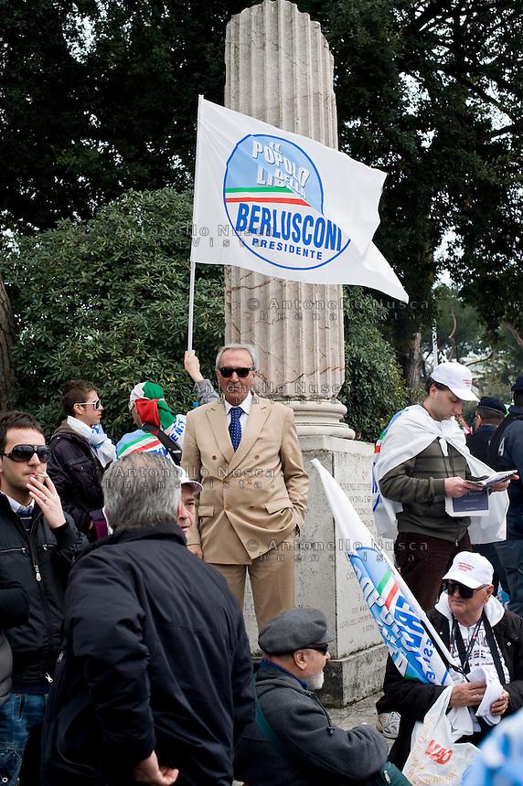 Manifestazione del Popolo delle Libertà