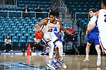 FRISCO - MARCH 13: Houston Baptist vs Lamar at Merrell Center in Katy on March 13, 2019 at Southland Conference Basketball Championship in Katy, Texas (Photo by Rick Yeatts )