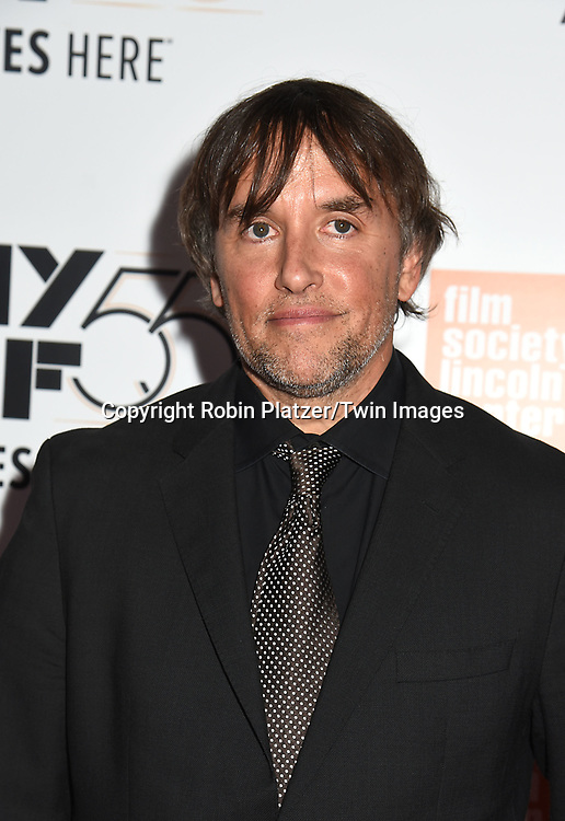 Director/Screenwriter Richard Linklaterattends the Opening Night Gala Presentation and World Premiere of &quot; Last Flag Flying&quot; at the 55th New York Film Festival on September 28, 2017 at Alice Tully Hall in Lincoln Center in New York City. <br /> <br /> photo by Robin Platzer/Twin Images<br />  <br /> phone number 212-935-0770