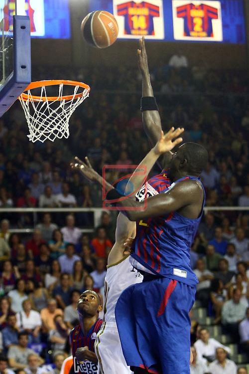 Boniface Ndong. FC Barcelona Regal vs R. Madrid: 81-80 - League ACB-Endesa 2011/12 - Game: 43.