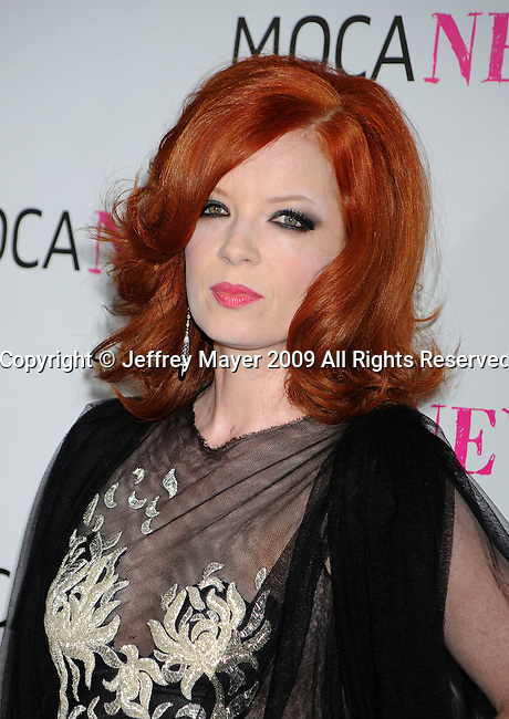 LOS ANGELES, CA. - November 14: Shirley Manson arrives at the MOCA NEW 30th anniversary gala held at MOCA on November 14, 2009 in Los Angeles, California.