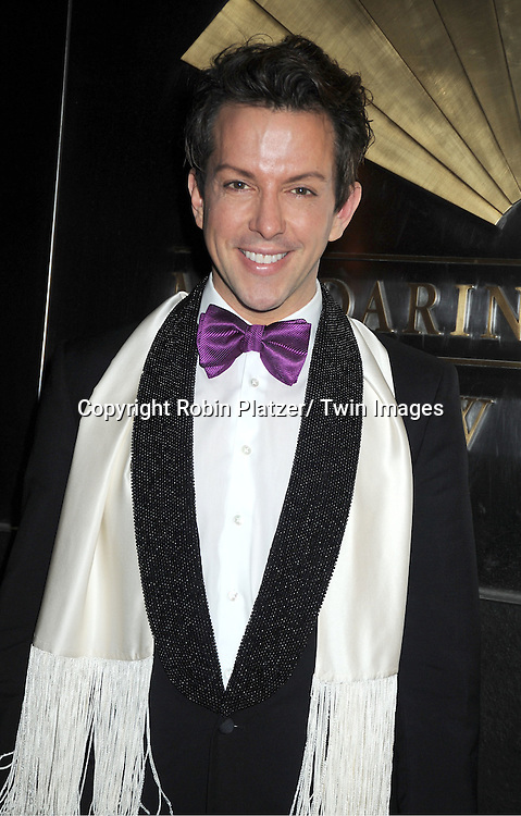 Derek Warburton arrives to The New Yorkers for Children 9th Annual  Spring Dinner Dance at The Mandarin Oriental on April 10, 2012 in New York City. The event was presented by fashion designer CD Greene.
