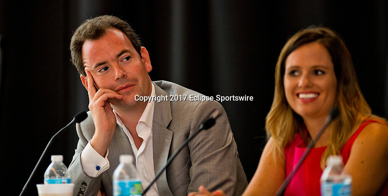 SARATOGA SPRINGS, NY - AUG 13: International Viewpoints at the Inaugural Equestricon Convention on August 13, 2017 in Saratoga Springs, New York. photo by Eclipse Sportswire/Equestricon