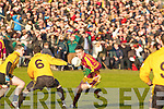 Listowel's Brendan Guiney and Daugh's Kieran Quirke..