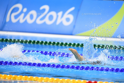 Mei Ichinose (JPN), <br /> SEPTEMBER 15, 2016 - Swimming : <br /> Women's 4x100m Freestyle Relay 34 Points Final <br /> at Olympic Aquatics Stadium<br /> during the Rio 2016 Paralympic Games in Rio de Janeiro, Brazil.<br /> (Photo by AFLO SPORT)
