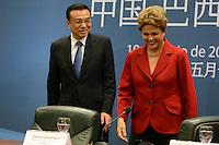 BRASÍLIA, DF, 19.05.2015 – DILMA-DF – A presidente Dilma Rousseff durante encontro com o Primeiro-Ministro da China Li Keqiang no Palácio do Itamaraty em Brasília, nesta terça-feira, 19.(Foto: Ricardo Botelho / Brazil Photo Press)