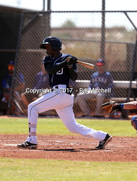 Angel Solarte - 2017 AIL Padres (Bill Mitchell)