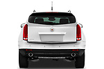 Straight rear view of a 2010 Cadillac SRX Performance