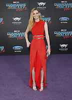 "HOLLYWOOD, CA - April 19: Lydia Hearst, At Premiere Of Disney And Marvel's ""Guardians Of The Galaxy Vol. 2"" At The Dolby Theatre  In California on April 19, 2017. Credit: FS/MediaPunch"