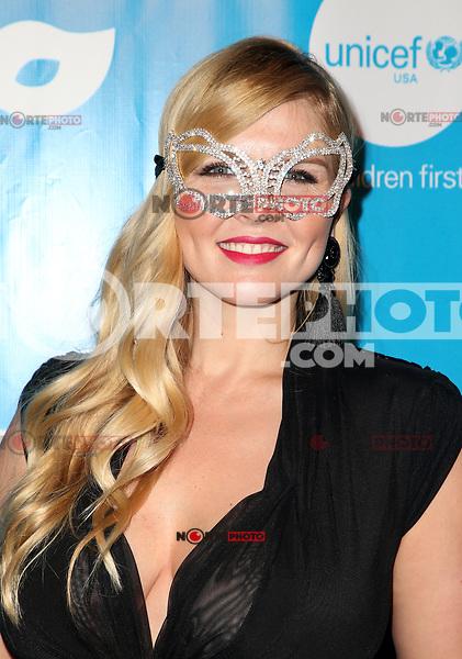 LOS ANGELES, CA - OCTOBER 27:  Elena Samodanova, at UNICEF Next Generation Masquerade Ball Los Angeles 2017 At Clifton's Republic in Los Angeles, California on October 27, 2017. Credit: Faye Sadou/MediaPunch /NortePhoto.com