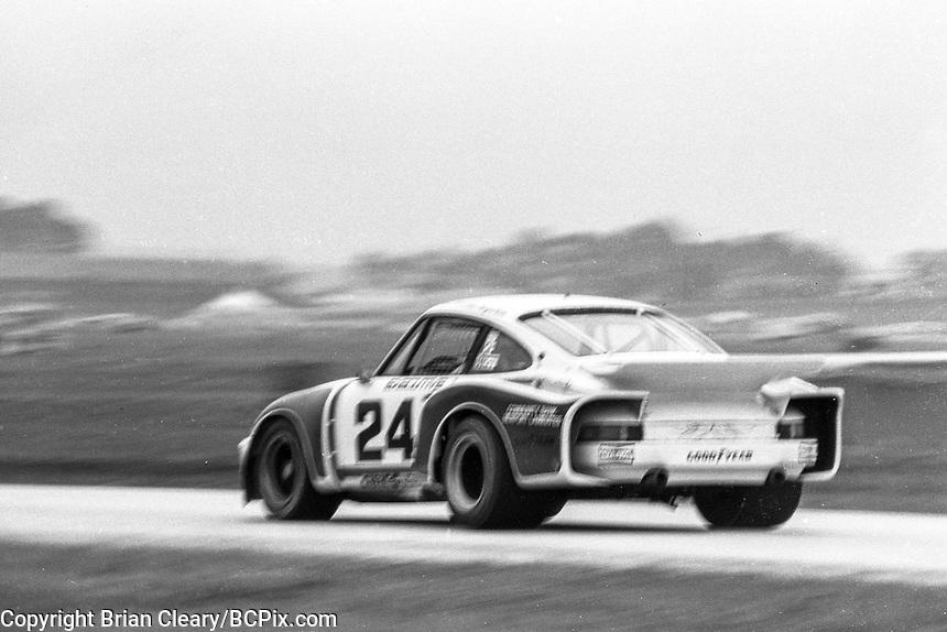 #24 Porsche Carrera RSR 911 of Tom Frank and Bob Bergstrom 15th place finish 1978 24 Hours of Daytona, Daytona International Speedway, Daytona Beach, FL, February 5, 1978.  (Photo by Brian Cleary/www.bcpix.com)