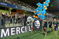 08omaggio a Loulou louis Nicollin <br /> Montpellier Vs Caen 05-08-2017 <br /> Calcio Ligue 1 2017/2018 <br /> Foto Panoramic/insidefoto