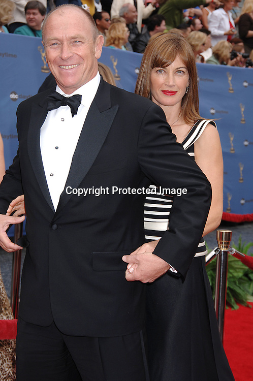 Corbin Bernsen and wife Amanda Pays..arriving at The 33rd Annual Daytime Emmy Awards..on April 28, 2006 at The Kodak Theatre...Robin Platzer, Twin Images
