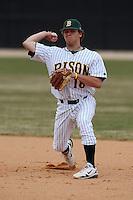 March 17, 2010:  Infielder Preston Ghizoni (18) of North Dakota State University Bison vs. Long Island University at Lake Myrtle Park in Auburndale, FL.  Photo By Mike Janes/Four Seam Images